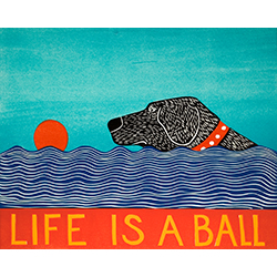 Life is a Ball - Giclee Print