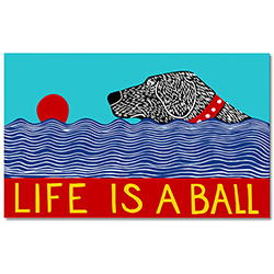Life is a Ball - Indoor Mat