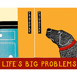 Life's Big Problems - Giclee Print