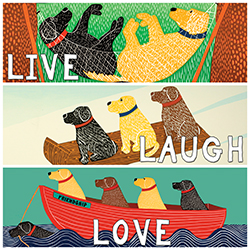 Live, Laugh, Love - Giclee Print