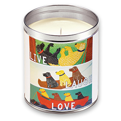 Live, Laugh, Love - Candle