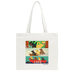 Live, Laugh, Love - Tote Bag