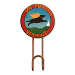 Dog Mountain VT Logo - Wall Hook