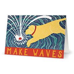 Make Waves - Card