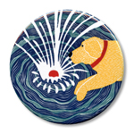 "Make Waves - 2.25"" Round"