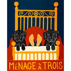 Menage a Trois II - Giclee Print
