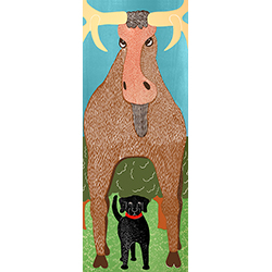 The Moose - Full Edition Print