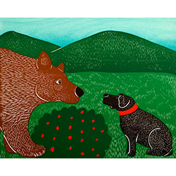 My Stomach Likes To Growl - Giclee Print