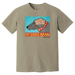 My Dog's Brain T-Shirt