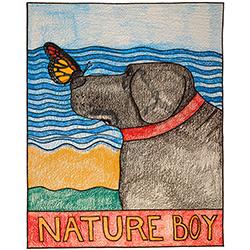 Nature Boy - Crayon Giclee