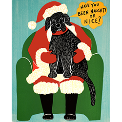 Have You Been Naughty or Nice? - Giclee Print