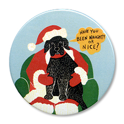 Have You Been Naughty or Nice? - Holiday Ornament