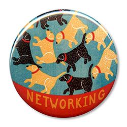 """Networking - 2.25"""" Round"""