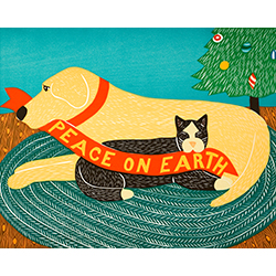 Peace on Earth - Giclee Print