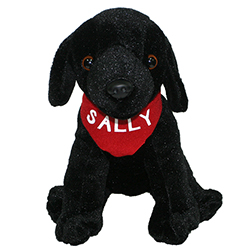 """Sally"" Plush Stuffed Lab"