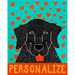 Pure Love-Happy Lab - Customizable Print