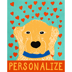 Pure Love-Golden - Customizable Print