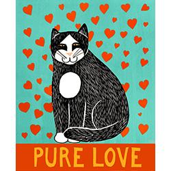 Pure Love-Good Kitty - Giclee Print