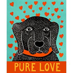 Pure Love-Lab - Giclee Print