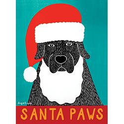 Santa Paws - 10 Flat Card Set