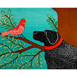 She Sings a Lovely Song - Giclee Print