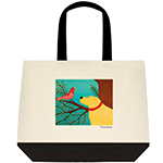 She Sings a Lovely Song - Tote Bag
