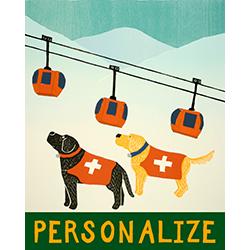 Ski Patrol - Customizable Print