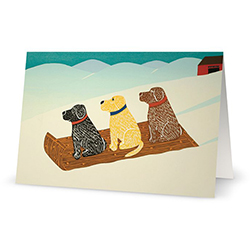 Sled Dogs - Card
