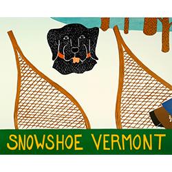 Snowshoe-Vermont - Giclee Print