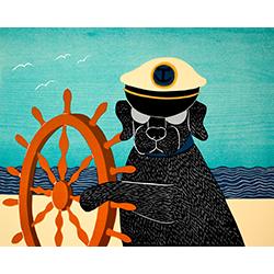 Captain - Giclee Print