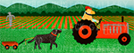 The Tractor - Full Edition Giclee