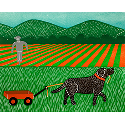 Wagon - Giclee Print