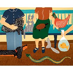 Waiting Room - Giclee Print