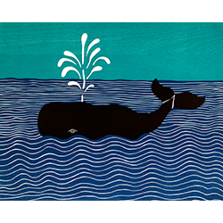 Whale - Giclee Print