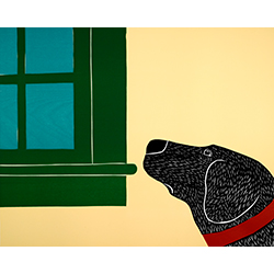 They Know When You Are Almost Home - Original Woodcut