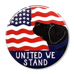 """United We Stand - 2.25"""" Round"""