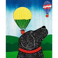 Up, Up, and Away! - Giclee Print