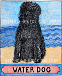 Water Dog - Crayon Giclee
