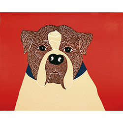 We Can Choose Our Friends (Ruff) - Giclee Print