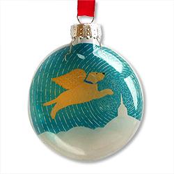 Golden Peace Chapel - Glass Ornament