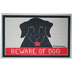 Beware of Dog - Mat
