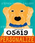 Bad Dog-Golden - Customizable Giclee