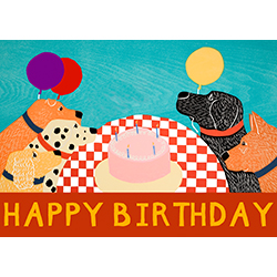 Happy Birthday - Giclee Print