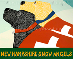 Snow Angels-New Hampshire - Giclee