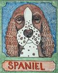 Spaniel - Crayon Giclee