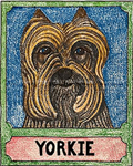 Yorkshire Terrier - Crayon Giclee